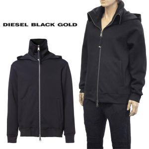 ◆ディーゼル ブラック ゴールド DIESEL BLACK GOLD◆ SNEILK ジップパーカ ...