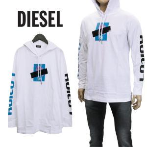 ディーゼル DIESEL Tシャツ バックプリント S9S4...