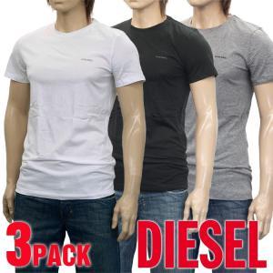 ディーゼル Tシャツ 3枚セット クルーネック SPDG-0...
