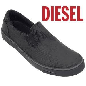 ディーゼル DIESEL スリッポン Y01049-P1178 SUB-WAYS-T8013 ブラック|importbrand-jp