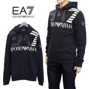 エンポリオアルマーニ EMPORIO ARMANI EA7 Tシャツ 長袖 ロンT ロゴプリント 6YPTB3-PJ20Z-22BN ブラック|importbrand-jp