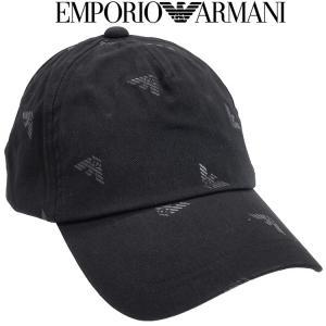 エンポリオアルマーニ EMPORIO ARMANI メンズ ニット帽 3色展開 627818-7A504-00020 ブラック|importbrand-jp