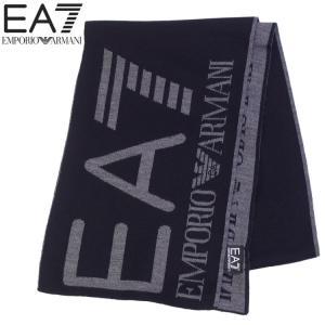 エンポリオアルマーニ EMPORIO ARMANI EA7 マフラー ストール メンズ 全面ロゴ 5色展開 625009-7A306-41710|importbrand-jp