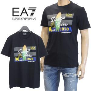 エンポリオアルマーニ Tシャツ フロントロゴ 3ZPT45-...