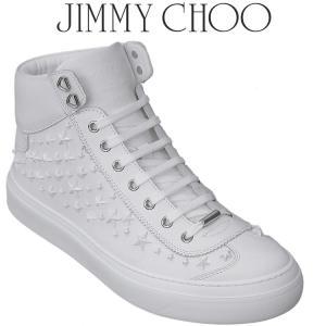 ジミーチュウ JIMMY CHOO レザー スニーカー ARGYLE-OMX-ULTRA WHITE|importbrand-jp