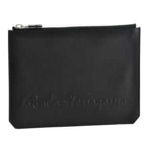 フェラガモ/FERRAGAMO バッグ メンズ KENTUCKY クラッチバッグ ブラック  240330-0001-0010 importbrandgrace