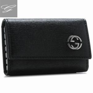 グッチ/GUCCI メンズ チェルシー キーケース ブラック  256337-ARU0N-1000|importbrandgrace