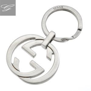 グッチ/GUCCI キーホルダー メンズ Key Chains キーリング スモークシルバー 256734-J160N-8111|importbrandgrace
