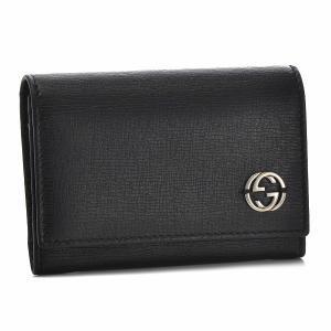 グッチ/GUCCI 名刺入れ メンズ Chelsea カードケース ブラック 306717-ARU0N-1000|importbrandgrace