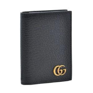【2019AW SALE】グッチ/GUCCI 名刺入れ メンズ GG Marmont カードケース ブラック 428737-DJ20T-1000 importbrandgrace