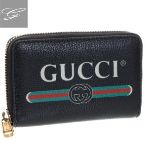 【2019AW SALE】グッチ/GUCCI メンズ GUCCIPRINT カードケース コインケース NERO 496319-0GCAT-8163【ロゴアイテム】 importbrandgrace