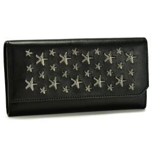【アウトレット】ジミーチュウ/JIMMY CHOO 財布 メンズ CHADWICK 2つ折り長財布 ブラック  CHADWICK-BLS-0050|importbrandgrace