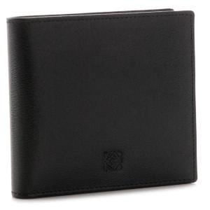 ロエベ/LOEWE 財布 メンズ TEXTURA LEATHER 2つ折り財布 ブラック×オーシャンブルー 10330E501-0001-1339|importbrandgrace