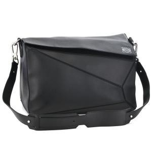 【アウトレット】ロエベ/LOEWE バッグ メンズ PUZZLE EXTRA LARGE BAG ショルダーバッグ ブラック  32230M46-0024-1100|importbrandgrace