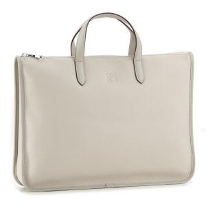 ロエベ LOEWE バッグ メンズ トレド ブリーフケース ビジネスバッグ ホワイトベージュ 32326770-0008-2630|importbrandgrace