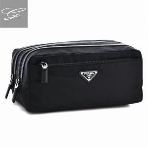プラダ/PRADA バッグ メンズ ナイロン ポーチ ブラック  2NA030-064-002|importbrandgrace