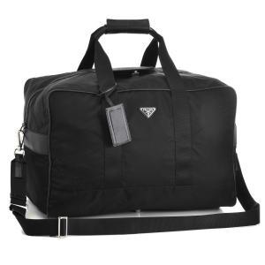 プラダ/PRADA バッグ メンズ テスートサフィアーノ 2WAYボストンバッグ ブラック 2VC070-064-002|importbrandgrace