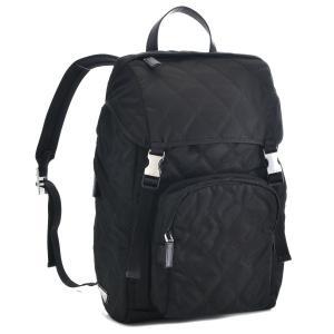 【17SS_SALE】プラダ/PRADA バッグ メンズ ナイロン バックパック リュックサック ブラック  2VZ135-2EJR-002|importbrandgrace
