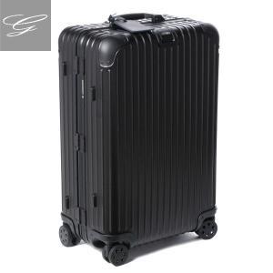 リモワ/RIMOWA キャリーバッグ メンズ TOPAS STEALTH スーツケース ELECTRONIC TAG(エレクトロニックタグ) 67L ブラック 92463015-0002-0001|importbrandgrace