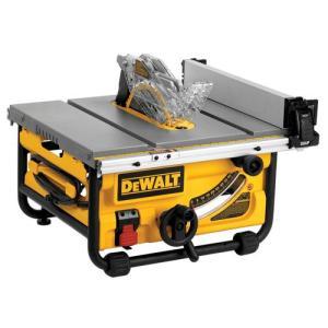 【商品名】DEWALT デウォルト DWE7480 10インチ コンパクトテーブルソー 24インチ最...