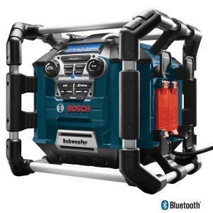 Boschボッシュ PB360C パワーボックス ジョブサイト AM/FM ラジオ/チャージャー/デジタルメディアステレオ