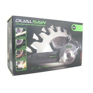Dualsaw(デュアルソー) TwinCut Counter Rotating ソーCS 450 w Laser, ケース, バキューム Attachment