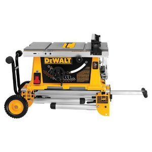 DEWALT(デウォルト) DW744XRS 10インチ Job Site Table ソーwith Rolling Stand|importdiy