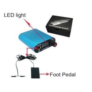 Metro Shop New Arrival Mini Led Digital Motor Tattoo パワーサプライ Clip Cord&foot Pedalキット ラ|importdiy