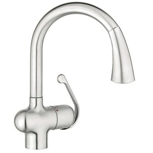 Grohe 33755SD1 Ladylux Cafe Single-Handle Pull-Dow...