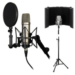 Rode NT1-A Complete Vocal Recording Solution with ...