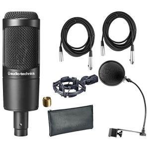 Audio Technica AT2035 W/Shock Mount , Pop Filter, ...