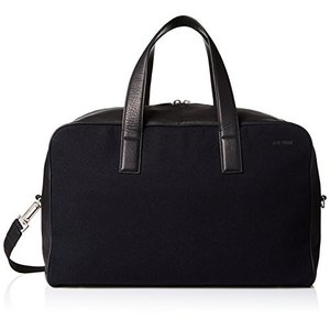 Jack Spade Men's Kahn Wool and Leather Overnight B...