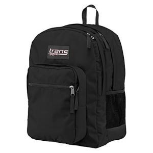 ジャンスポーツ New Trans SuperMax Laptop Backpack by JanSport Black【並行輸入品】 importdvd-com