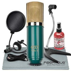MXL V67G Large Capsule Condenser Microphone Bundle...