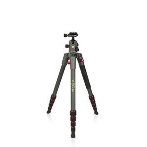 Vanguard VEO 2 235AB Red Aluminum Travel Tripod wi...