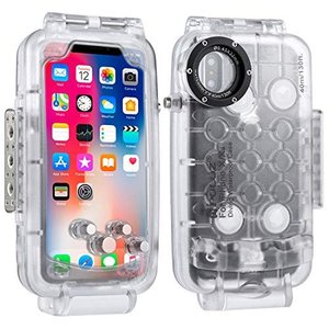 PULUZ 40m / 130ft Smartphone Waterproof Case for i...