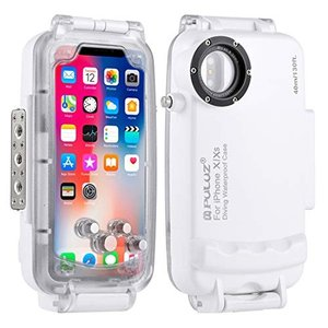 PULUZ for iPhone X/iPhone Xs 40m/130ft Waterproof ...