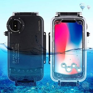 PULUZ for iPhone X & XS 40m/130ft Waterproof Divin...