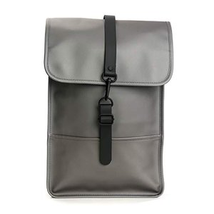 Rains Backpack Mini 15 Metallic Charcoal One Size【...