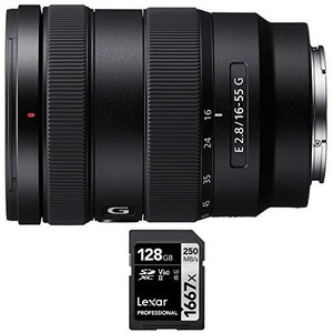 Sony SEL1655G E 16-55mm F2.8 G Lens Bundle with Le...