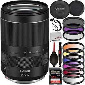 Canon RF 24-240mm f/4-6.3 IS USM Lens with Essenti...