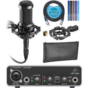 Audio Technica AT2035 Cardioid Condenser Microphon...
