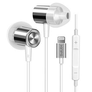 KINPS Apple MFI Certified Headphones Earphones Ear...