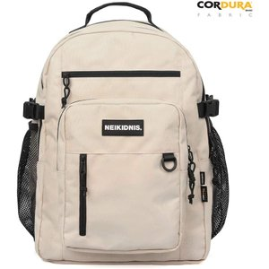 NEIKIDNIS Laptop Backpack, Using Cordura Fabric Backpack, 28L Casual Travel Backpack Unisex Dual Use, Travel Plus Backpack, Light Beige【並行輸入 importdvd-com