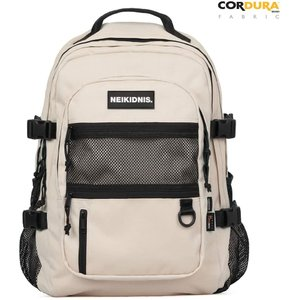 NEIKIDNIS Laptop Backpack, Using Cordura Fabric Backpack, 29L Casual Mesh Backpack Unisex Dual Use, Absolute Backpack, Light Beige【並行輸入品 importdvd-com