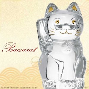 バカラ クリスタル 招き猫 ラッキー キャット クリア 2607786 Baccarat Lucky...