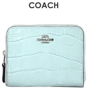 d8e9b0b23a73 コーチ COACH レディース 財布 二つ折り財布 31831 SV/SK(スカイ)