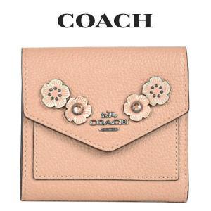 コーチ COACH レディース 財布 ミニ財布 三つ折り財布 38896 GMO3R(ヌードピンク)