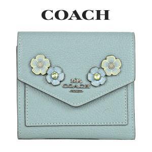 コーチ COACH レディース 財布 ミニ財布 三つ折り財布 38896 GMO4Q(セージ)