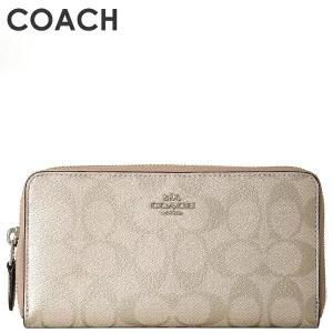 コーチ COACH レディース 財布 長財布 F39670 SVPL(プラチナ)
